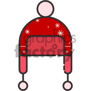 beanie winter hat vector icon clipart. Royalty-free image # 403989