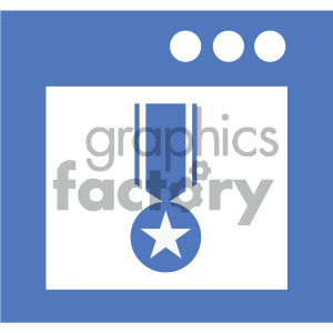 gui stats vector icon clipart. Commercial use image # 404040