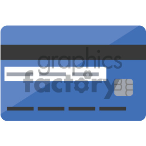 credit card vector icon clipart. Royalty-free image # 404052