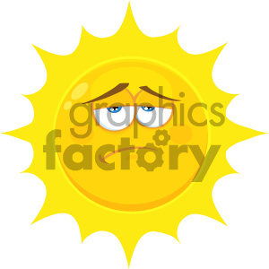 sun sunshine summer mascot character cartoon mad upset