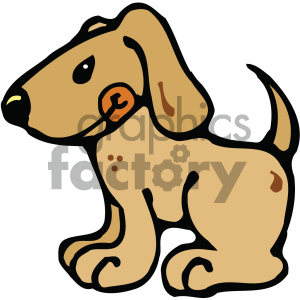 cartoon clipart dog 001 c clipart. Commercial use image # 404871