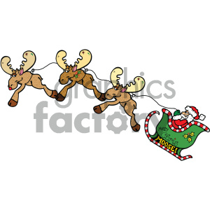 cartoon clipart moose 23 c clipart. Royalty-free image # 404997