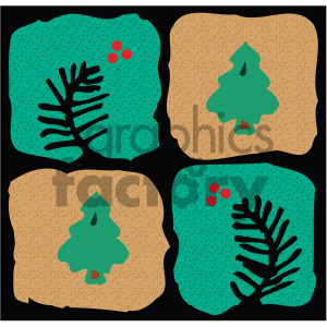 quilt block vector image clipart. Royalty-free image # 405217