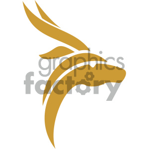 vector gazelle icon clipart. Commercial use image # 405491