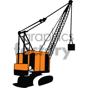 vector crane art clipart. Royalty-free icon # 405494