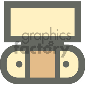 entertainment center furniture icon clipart. Royalty-free image # 405639
