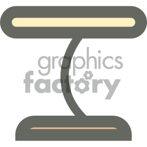 desk lamp furniture icon