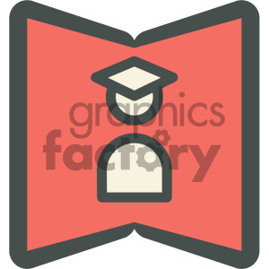 student notes education icon clipart. Commercial use image # 405706