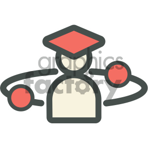astronomy science education icon clipart. Royalty-free image # 405709