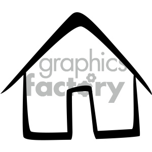 home vector flat icon clipart. Commercial use icon # 405872