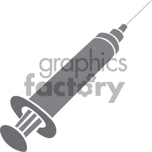 hypodermic needle vector art clipart. Royalty-free image # 405889