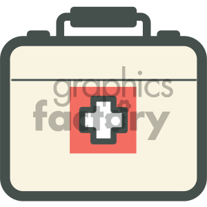 medical kit vector icon clipart. Royalty-free icon # 405955