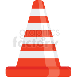construction cone icon clipart. Royalty-free icon # 406045