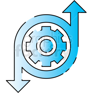 integration icon clipart. Royalty-free image # 406186