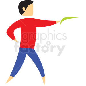 boomerang sport icon clipart. Royalty-free image # 406208