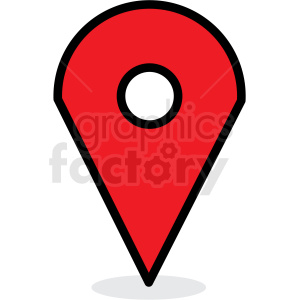 map location marker vector icon