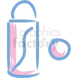 lipstick cosmetic vector icons clipart. Royalty-free image # 406336