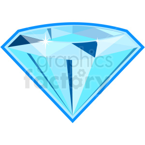 diamond vector icon game art clipart. Commercial use image # 406385