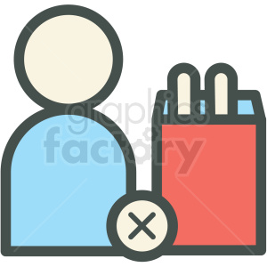 ending addiction vector icon clipart. Royalty-free icon # 406477