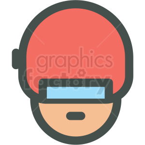cyborg avatar vector icons clipart. Commercial use image # 406808