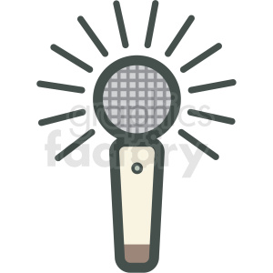 speech recognition vector icon clipart. Royalty-free image # 406850