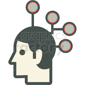 intelligent design vector icon clipart. Royalty-free image # 406939