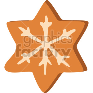 christmas cookie icon clipart. Royalty-free image # 407295