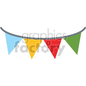 party banner no background clipart. Royalty-free image # 407387