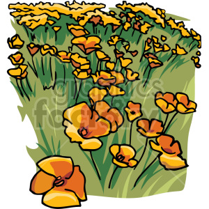 meadow clipart. Commercial use image # 151123