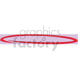 red circle clipart. Commercial use image # 167022