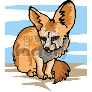 image of a chinchilla  clipart. Commercial use image # 129268