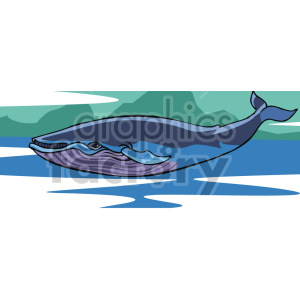 whale clipart. Royalty-free image # 129334