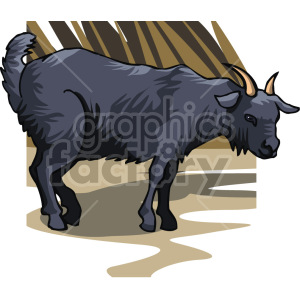 goat clipart. Royalty-free image # 129358