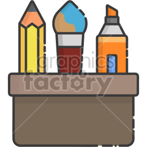 Stationery clipart. Commercial use image # 407947
