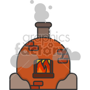 Pottery Kiln clipart. Commercial use image # 407954
