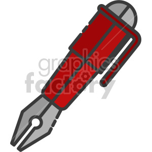 Quill Pen clipart. Royalty-free image # 407955