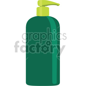 green hand soap bottle no background clipart. Royalty-free image # 408016