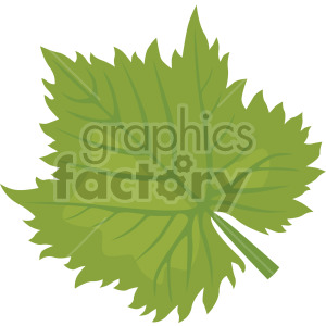large leaf clipart. Commercial use image # 408056