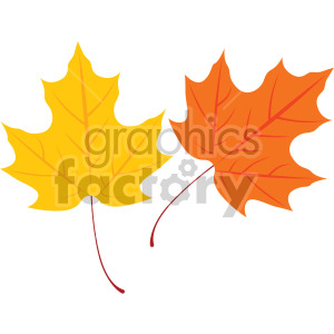 maple leaves clipart. Royalty-free image # 408071