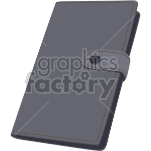 leather wallet no background clipart. Royalty-free image # 408114