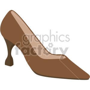 spool heel shoes clipart. Commercial use image # 408137