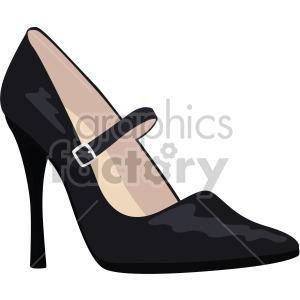 mary jane shoes clipart. Royalty-free image # 408144