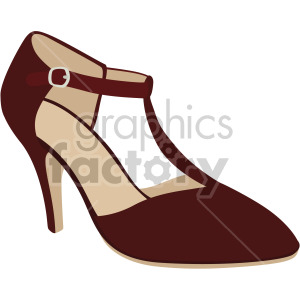 t bar heels shoes clipart. Royalty-free image # 408145