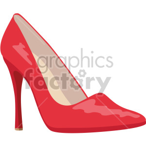 red stiletto heels clipart. Royalty-free image # 408152