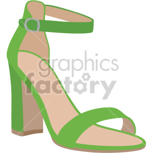 strap shoes clipart. Royalty-free image # 408157