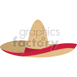 mexican hat no background clipart. Royalty-free image # 408184