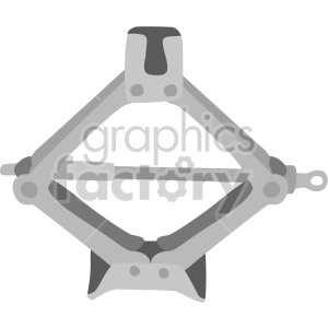 car jack clipart. Royalty-free image # 408279