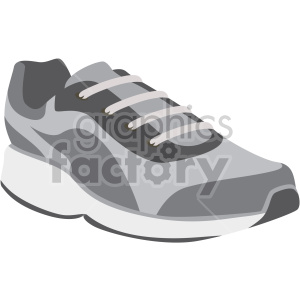 walking shoe no background clipart. Commercial use image # 408339