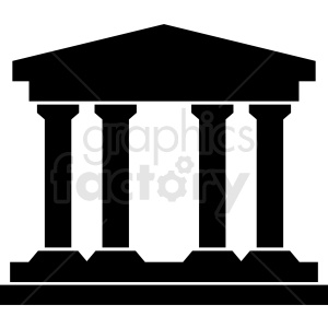 pillars icon clipart. Royalty-free image # 408496