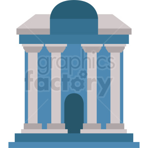 government embassy building vector icon clipart. Royalty-free image # 408534